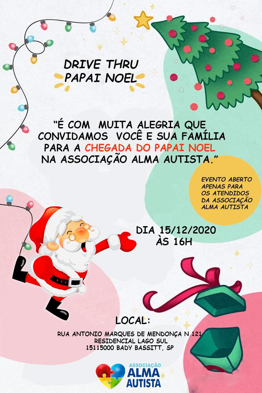 Papai Noel Na Alma Autista